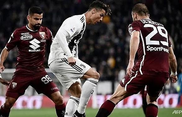 ronaldo breaks torino hearts in 1 1 derby draw