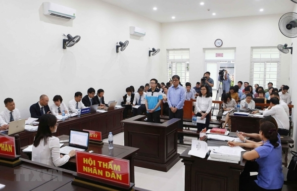 hanoi court begins trial on power abusing case at pvep