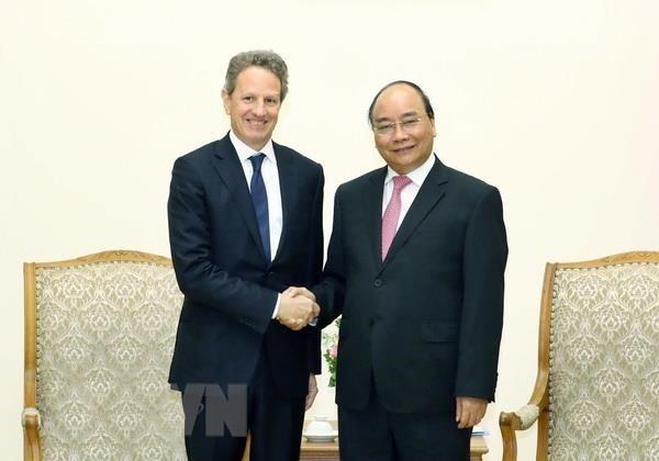pm appreciates warburg pincus investment in vietnam