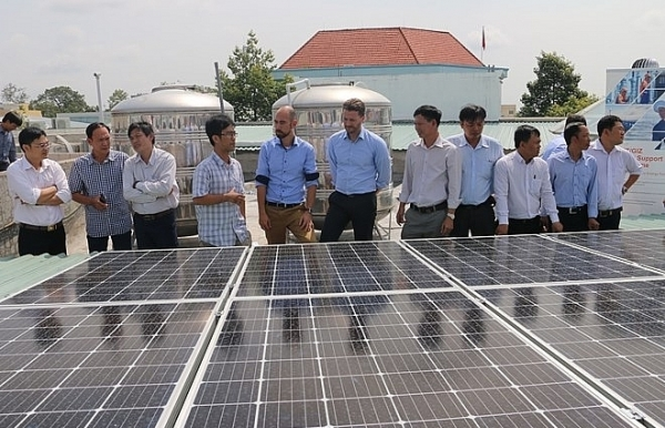 solar rooftop system inaugurated in an giang province