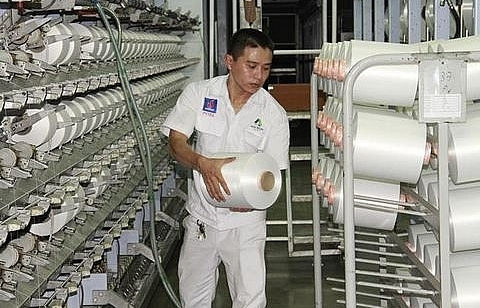 dinh vu polyester fibre plant opens two more lines
