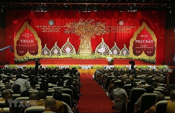 un day of vesak 2019 solemnly opens in ha nam province
