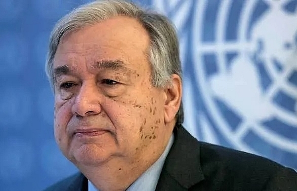 un chief says world not on track with climate change