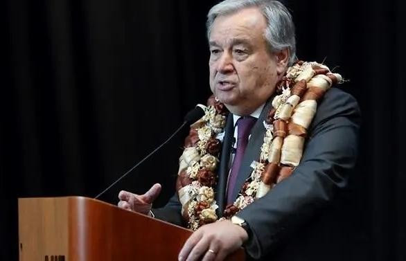 un chief hails pacifics moral authority on climate