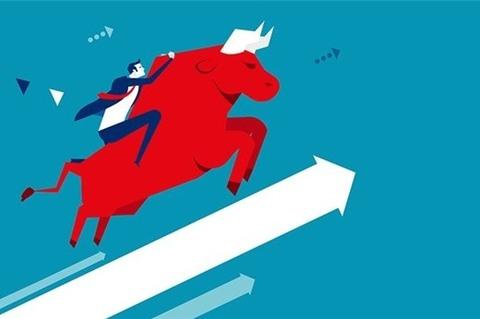 shares gain on oil stocks