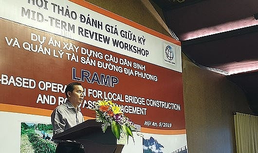 local bridge construction road maintenance project under review