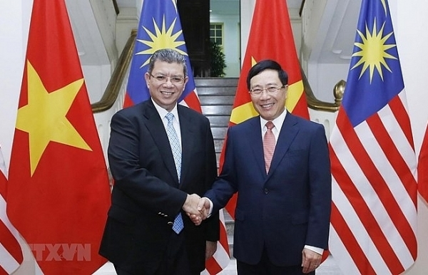 vietnam malaysia target 15 billion usd in trade by 2020