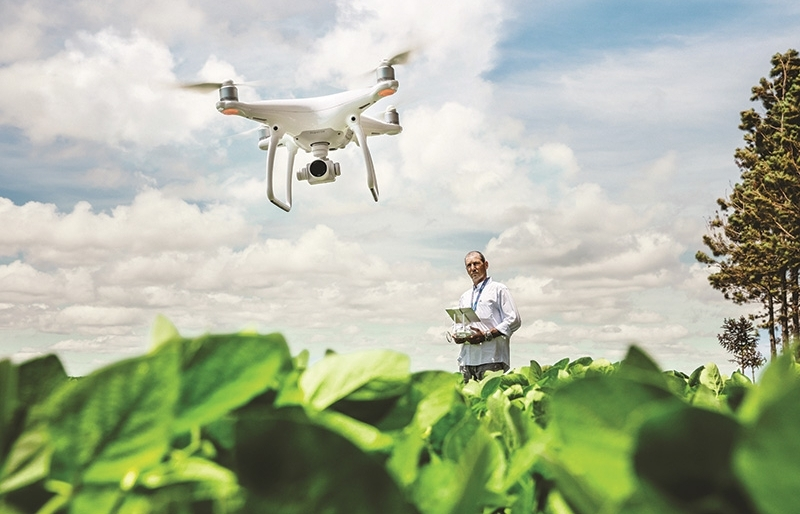 bayer enlists hi tech for sustainable agriculture