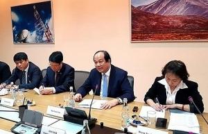 vietnam russia foster cooperation in e government building