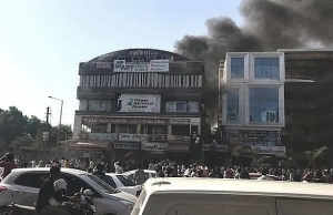 at least 19 students die in india fire medical officer