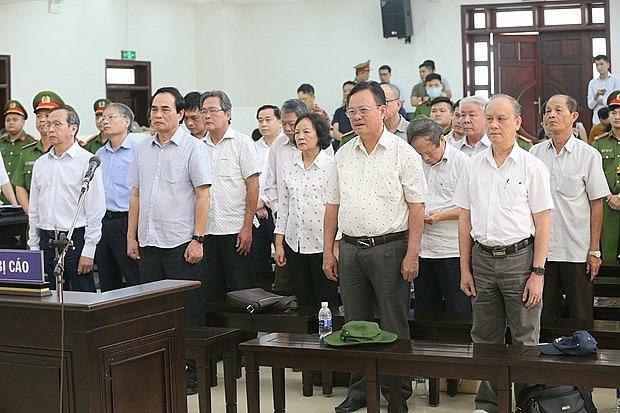 appeal court announces verdict for case involving ex leaders of da nang