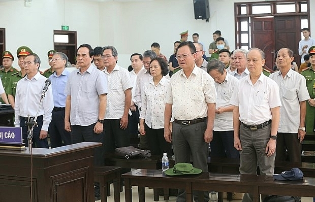 appeal court announces verdict for case involving ex leaders of da nang