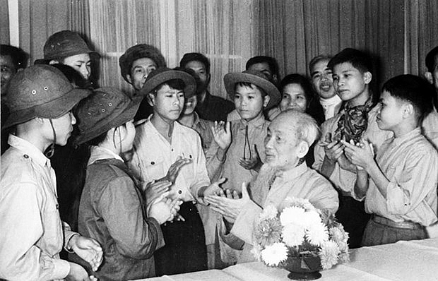 president ho chi minh wrote new history chapter for vietnam korean professor
