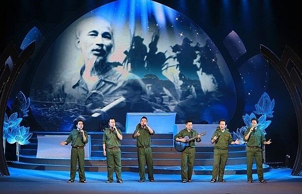 special art programme marks president ho chi minhs birth anniversary