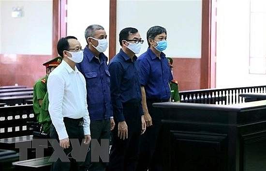 court upholds sentences for ex officials of hcm city