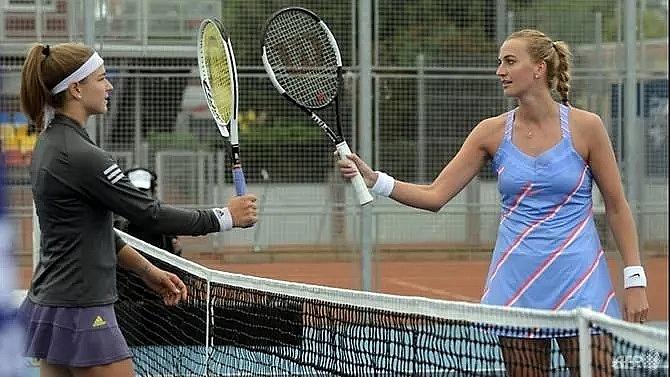 kvitova hails bizarre czech tournament as new start