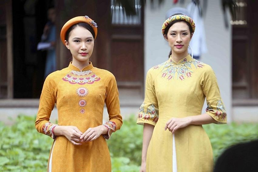 programme honours beauty of ao dai