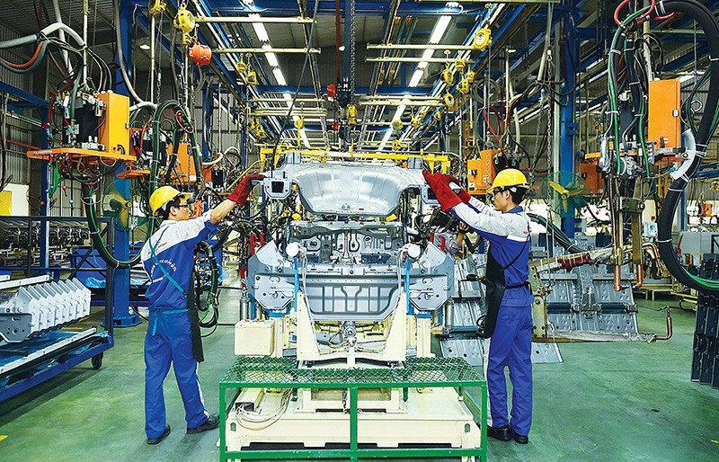 industrial production lends stability amid disruption