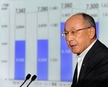 toyota sees net profit slump on strong yen quake