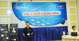 engenius technologies appoints amc as sole distributor in vietnam