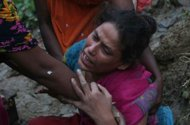 heavy rains landslides kill 56 in bangladesh