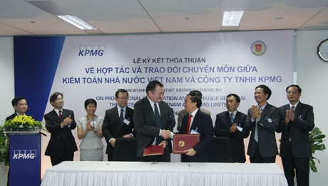 sav and kpmg ink cooperation agreement
