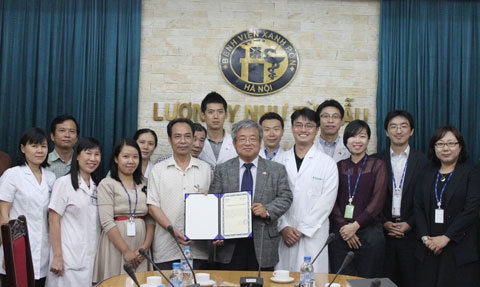 koica funds healthcare services in hanoi
