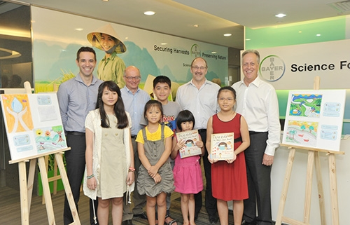 bayer vietnams children painting competition 2013 winners announced