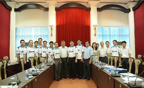 ptt lubricants seeking cooperation with vietnam railway corporation