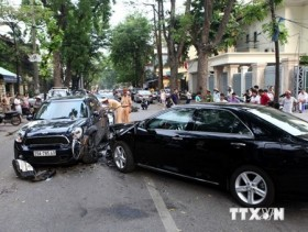 traffic accidents in ha noi outskirts increase