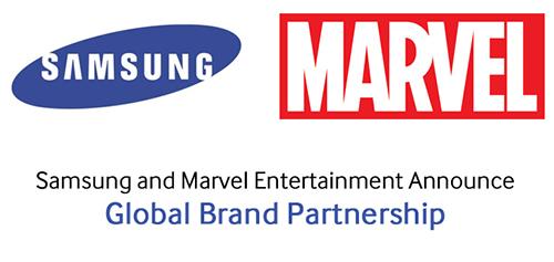 Samsung and Marvel Entertainment's global brand partnership announced