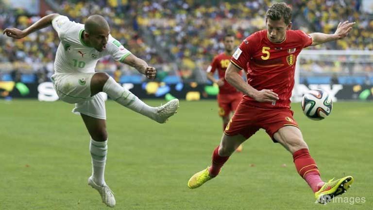 World Cup : Belgium Battle Back To Down Algeria