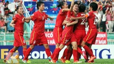Vietnamese women rank 33rd in latest FIFA rankings