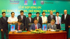 pvfcco signed epc contract to expand phu my nh3