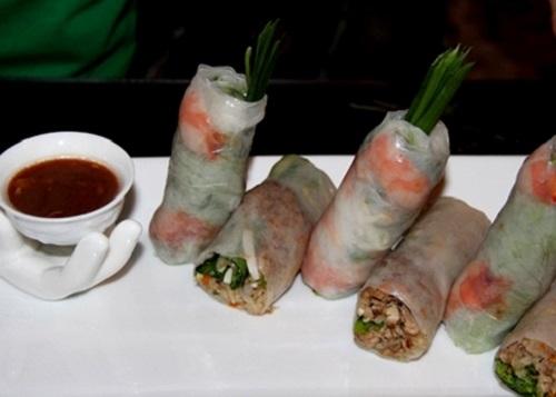 Goi Cuon Fresh Spring Rolls Rice Paper Rolls
