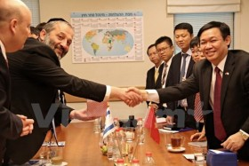 vn to bolster technology trade relations with israel