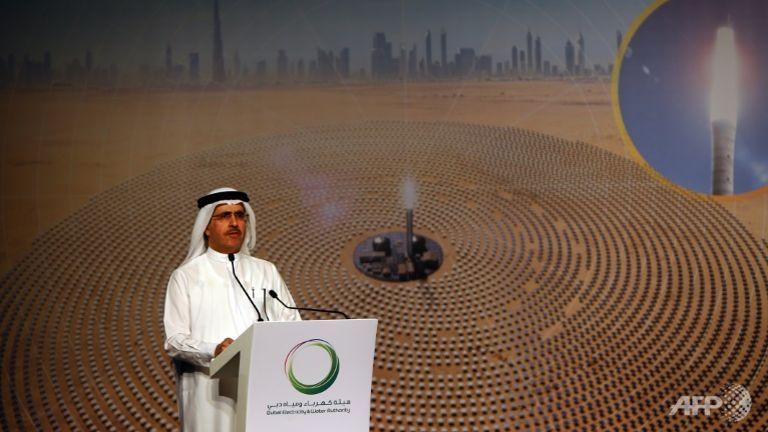 dubai to build 1000 megawatt solar power plant