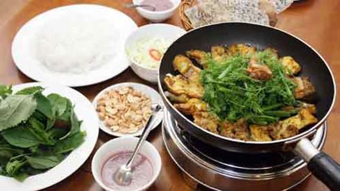 la vong fish a favourite dish of hanoian