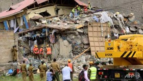 Three more rescued after Kenya building collapse