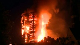 London Grenfell Tower fire: 'A number of fatalities', says fire brigade chief