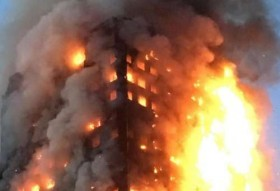 12 dead as fire engulfs London tower block