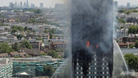 Local residents voice anger over London tower blaze