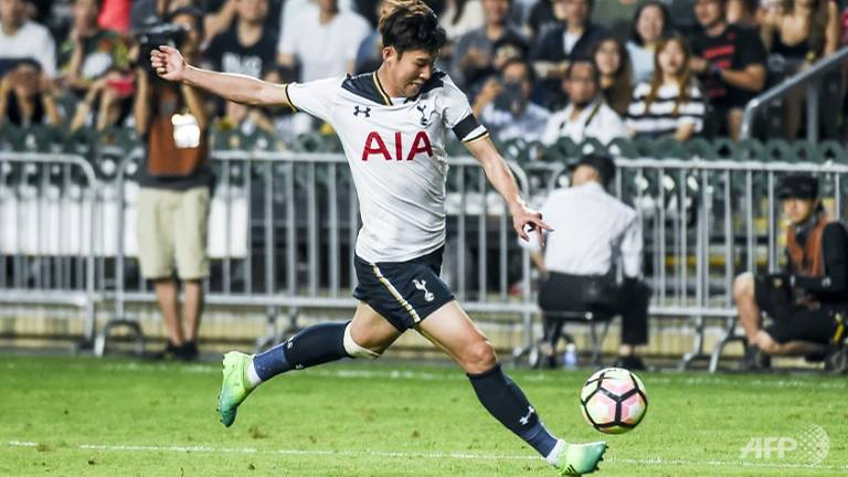 tottenhams son heung min to have surgery on broken arm