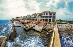 Beautiful beach faces destruction in Hoi An