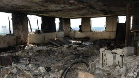 New images inside London fire tower show 'indescribable' scenes