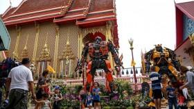 Temples transformed: Superheroes bolster Buddha's ranks
