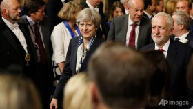 Brexit laws head agenda for UK's 'zombie government'