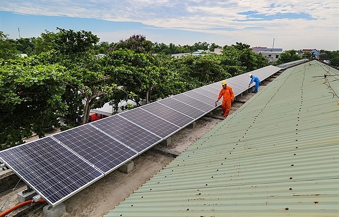 solar power set for schools in quang nam