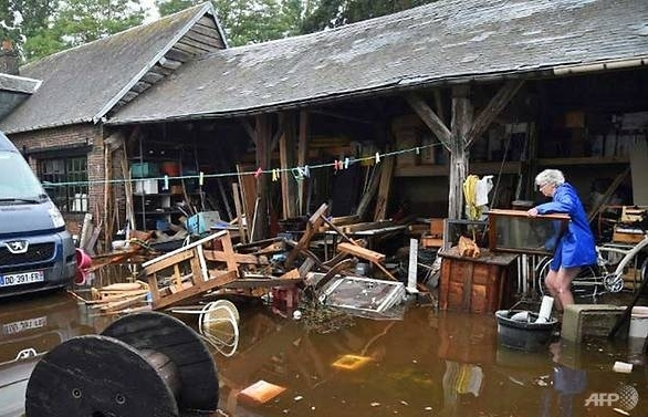 two dead as fresh storms sweep across france