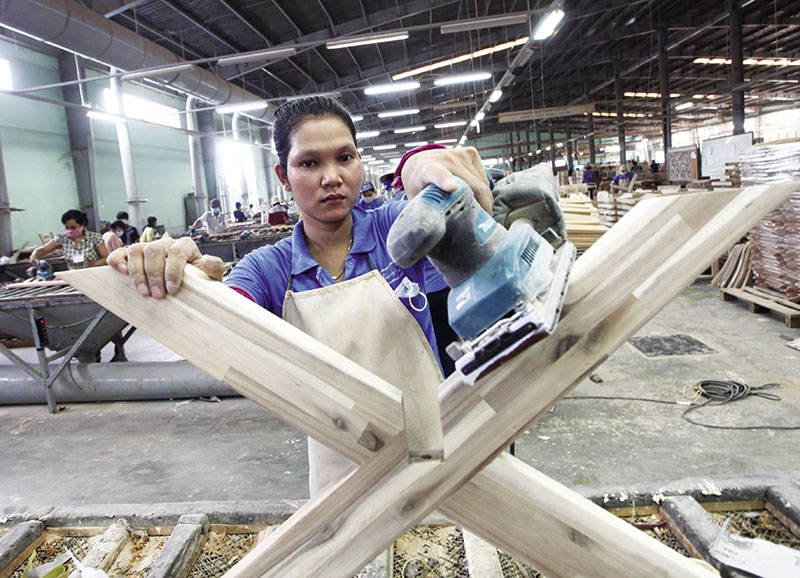 economy blooms in first five months